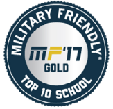 Military Friendly 2017 Seal