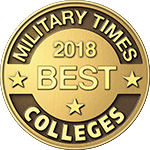 Military Times Best Colleges Seal